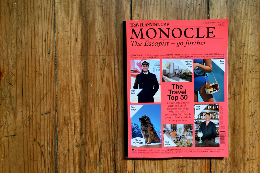 Monocle Travel Annual 2019